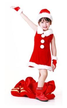 Barn Julenissen Kjole