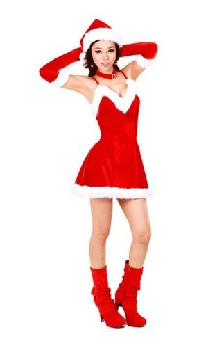 Bedårende Nisse Kjole Jule Kjoler