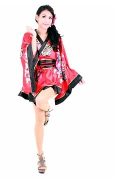 Blomster Motiv Kimono