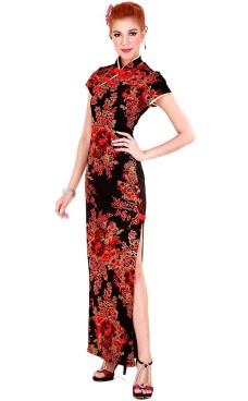 Eksklusiv Kina Kjole Asiatiske Kjoler