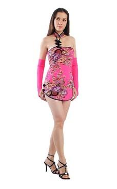 Fristende Asiatisk Minikjole Asiatiske Kjoler