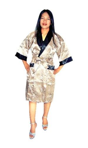 Gull Silke Morgenkåpe Unisex Kimono Morgenkåpe