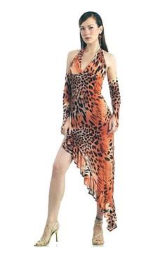 Het Leopard Dansekjole