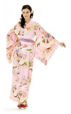 Japansk Kimono Kjole Kimono Kjoler