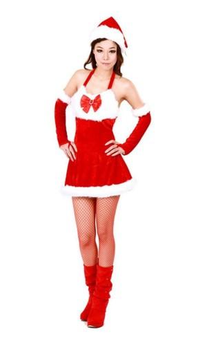 Julenisse Jente Kostyme Jule Kjoler