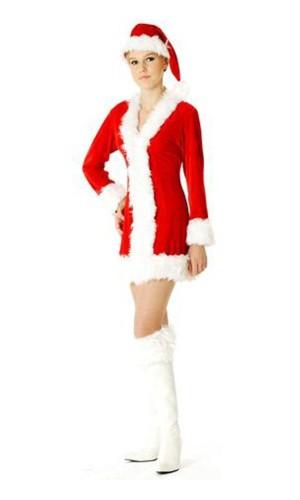 Julenisse Kostyme Jule Kjoler