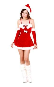 Julenissen Minikjole Jule Kjoler