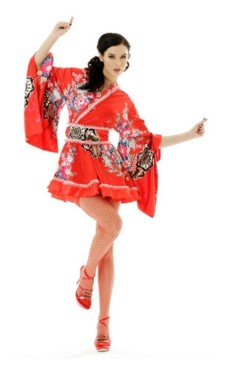 Kimono Minikjole Kimono Kjoler