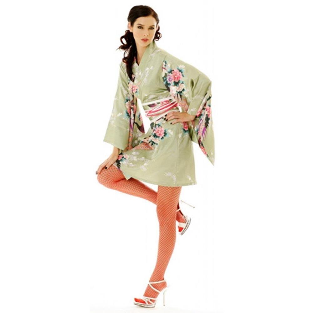 Turkis Kimono Kjole aClubWear.EU