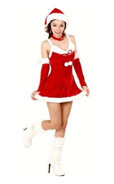 Kort Julenissen Kjole Jule Kjoler