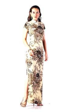 Luksuriøs Asiatisk Selskapskjole Asiatiske Kjoler