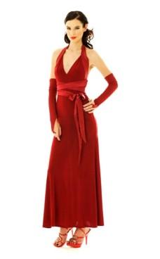 Luksuriøs Rød Selskapskjole