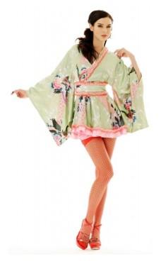 Mini Kimono Kostyme Kimono Kjoler