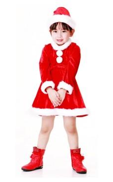 Nisse Dronning Barnekostyme Jule Barnekostymer