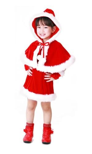 Nisse Hette Barne Kostyme Jule Barnekostymer