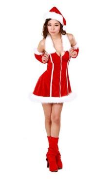 Nisse Kjole Kostyme Jule Kjoler