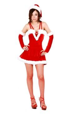 Sexy Julekostyme Jule Kjoler