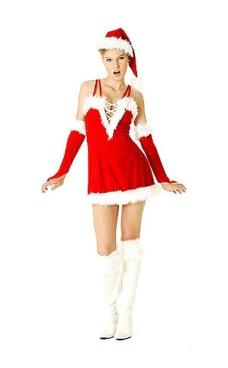 Sexy Julenisse Kjole Jule Kjoler