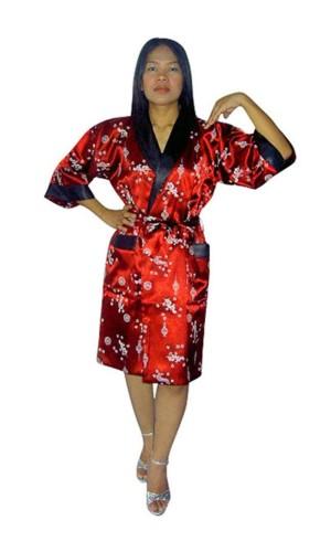 Silke Morgenkåpe Unisex Kimono Morgenkåpe
