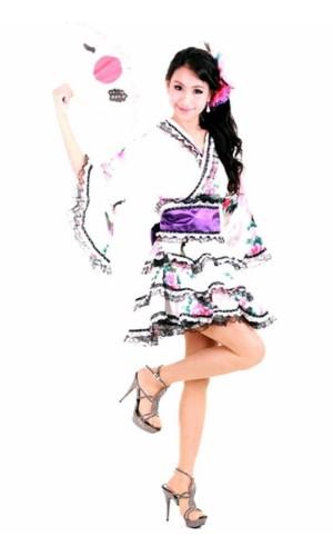 Stilig Lagdelte Kimono Kimono Kjoler