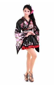 To Tonet Japansk Kimono