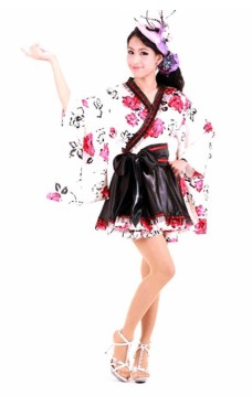 Utsøkt Stil Kimono Kimono Kjoler
